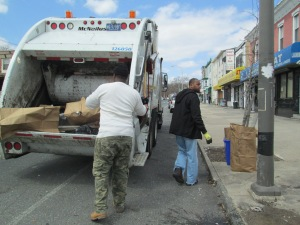 Bye Bye Trash:  2014 Philly Spring Clean Up 4900 Wayne Ave SoLo/GCA-WAM